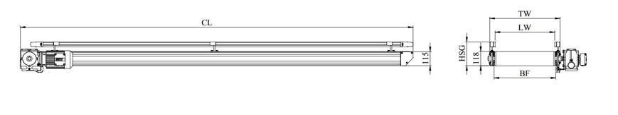 kích thước băng tải belt it4110