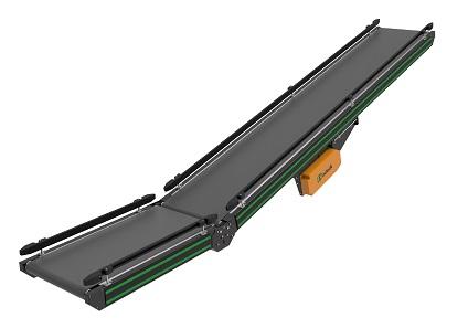 Băng tải Belt góc nghiêng thiết kế