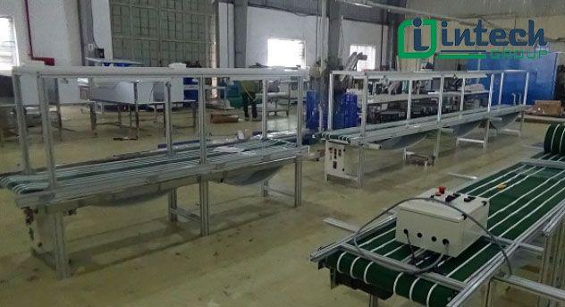 Thông số kỹ thuật băng tải dán gân PVC