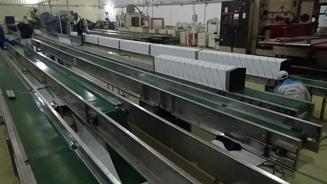 hệ thống băng tải công nghiệp lắp ráp hoàn chỉnh