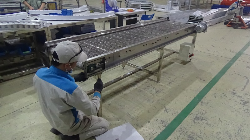 băng tải lưới inox intech
