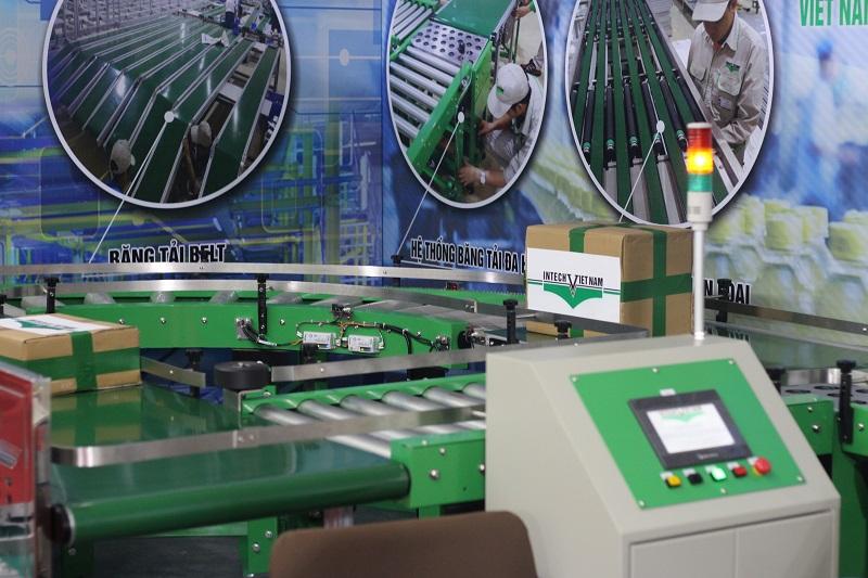 hệ thống băng chuyền phân loại hàng hóa