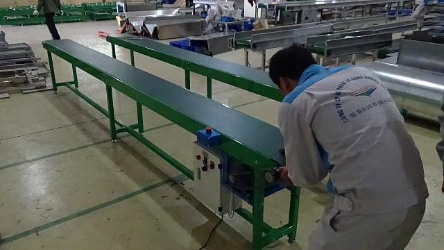 ứng dụng băng tải PU vào sản xuất