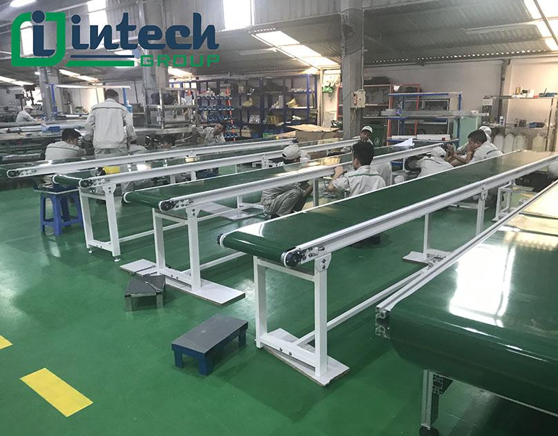 Cấu tạo băng tải PVC tiêu chuẩn quốc tế