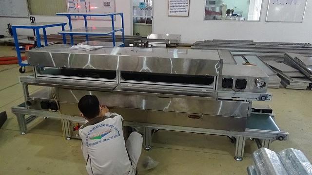 ứng dụng băng tải sấy 2 tầng vào thực phẩm