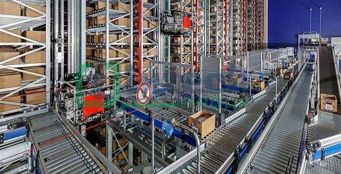 Cơ chế hoạt động của Hệ thống băng tải 2 tầng