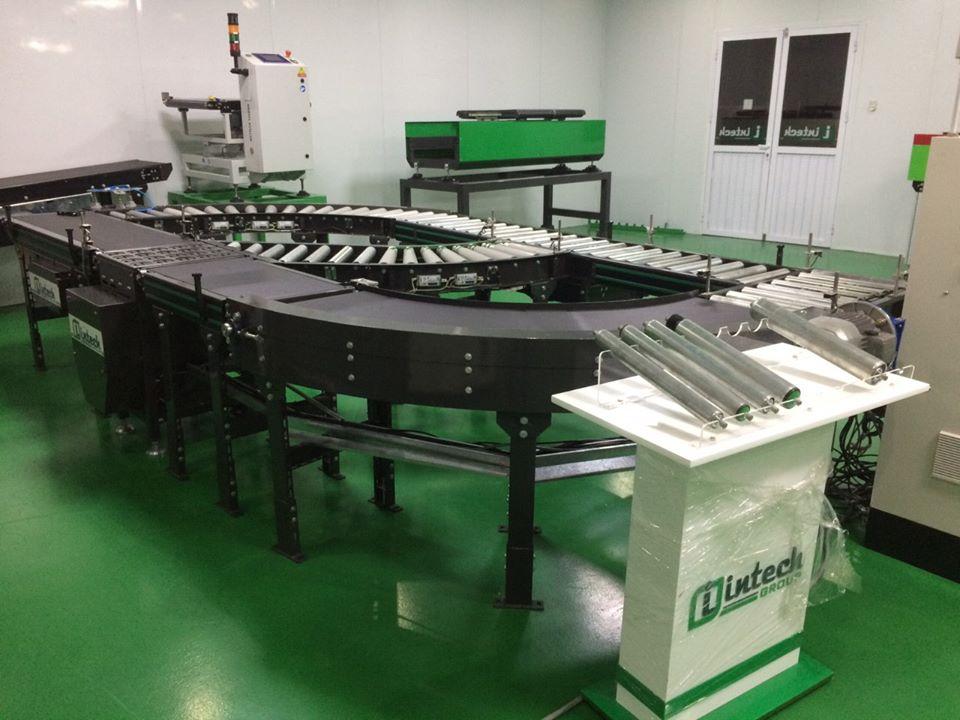 Hệ thống băng chuyền sản xuất thiết kế tại intech